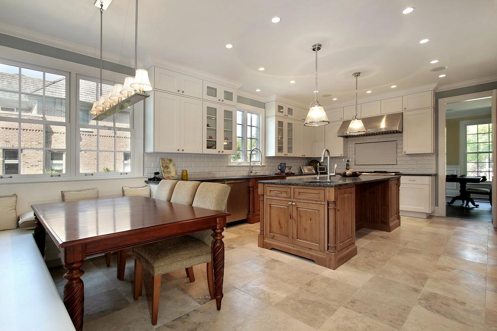 Ocean City clean kitchen floor
