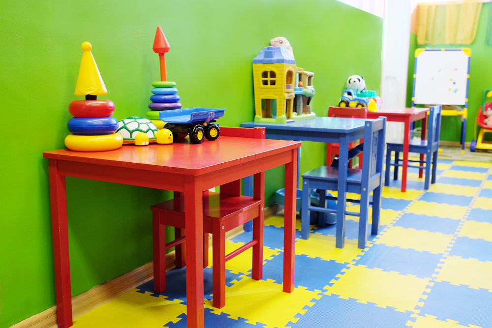 Playroom Flooring -© Vereshchagin Dmitry