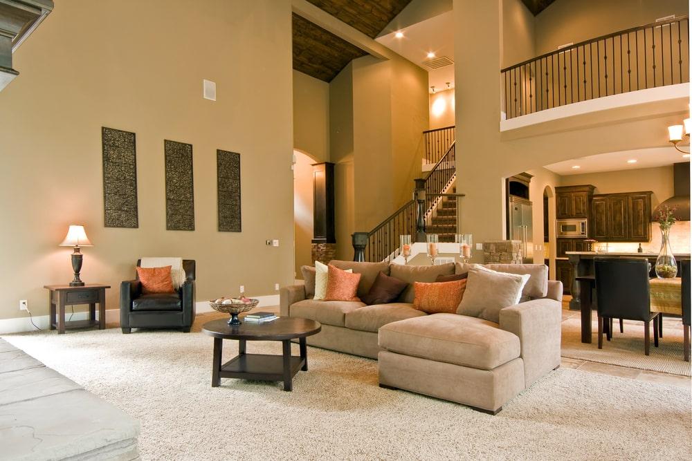 Modern Living Room - Floor Coverings International Waukesha
