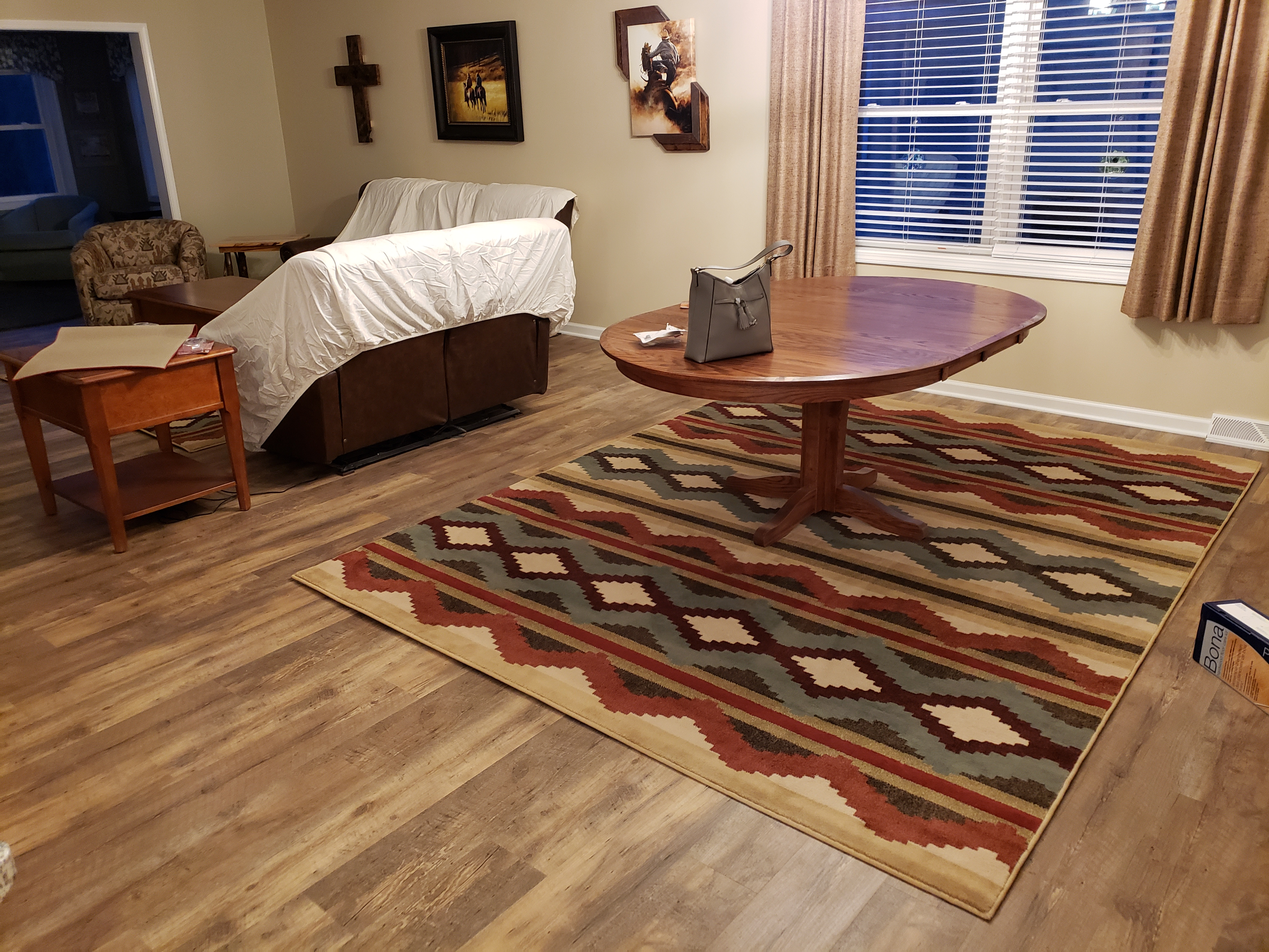 luxury vinyl plank waterford