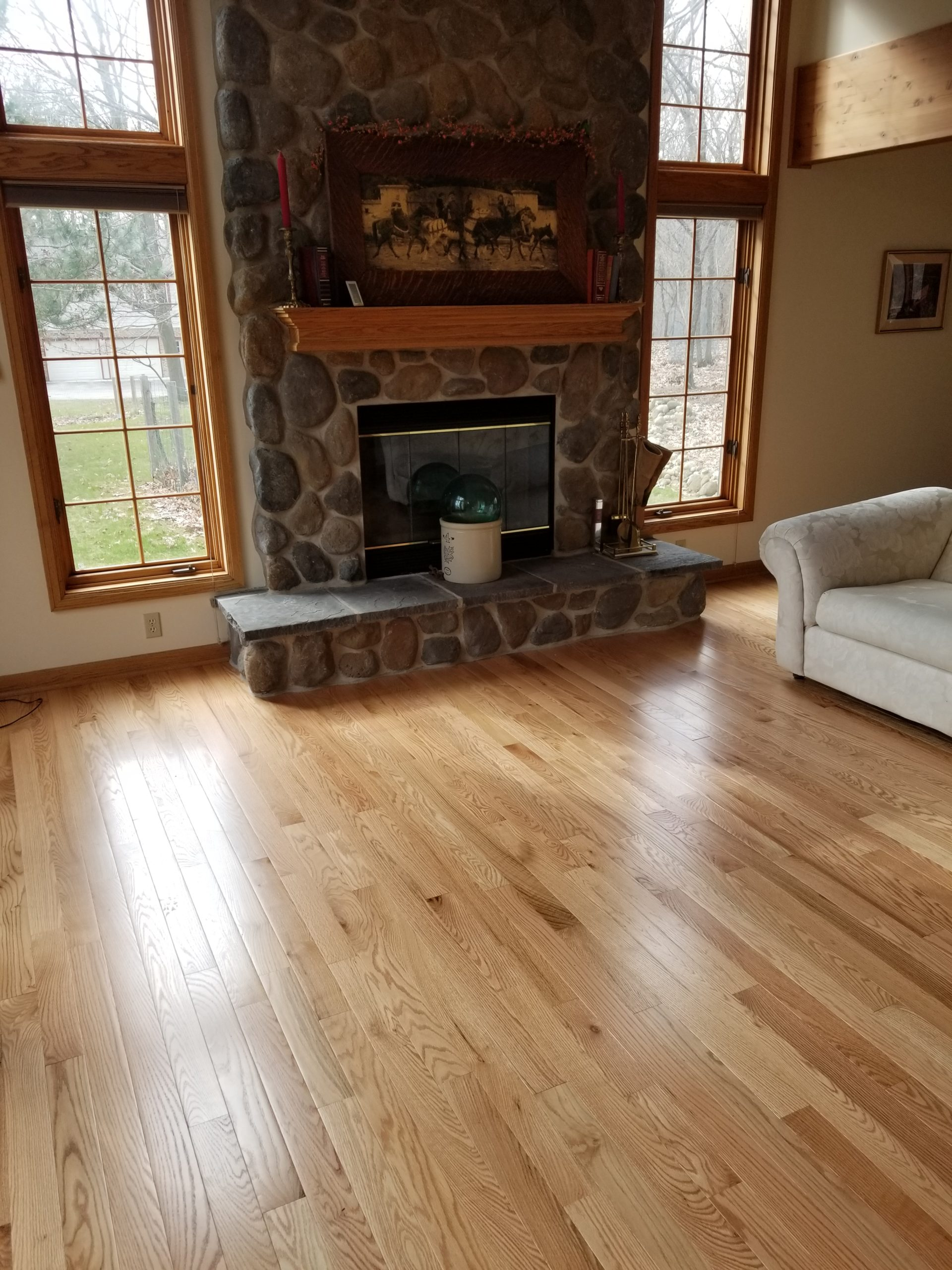 solid oak hardwood delafield