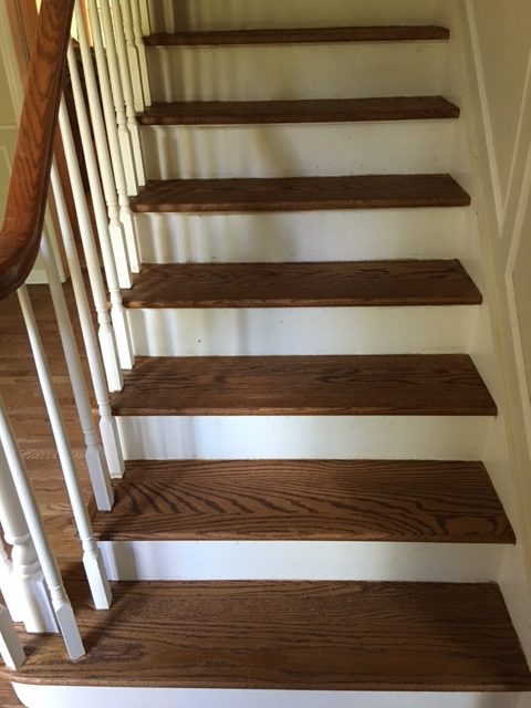 Hardwood Floor Staircase NJ