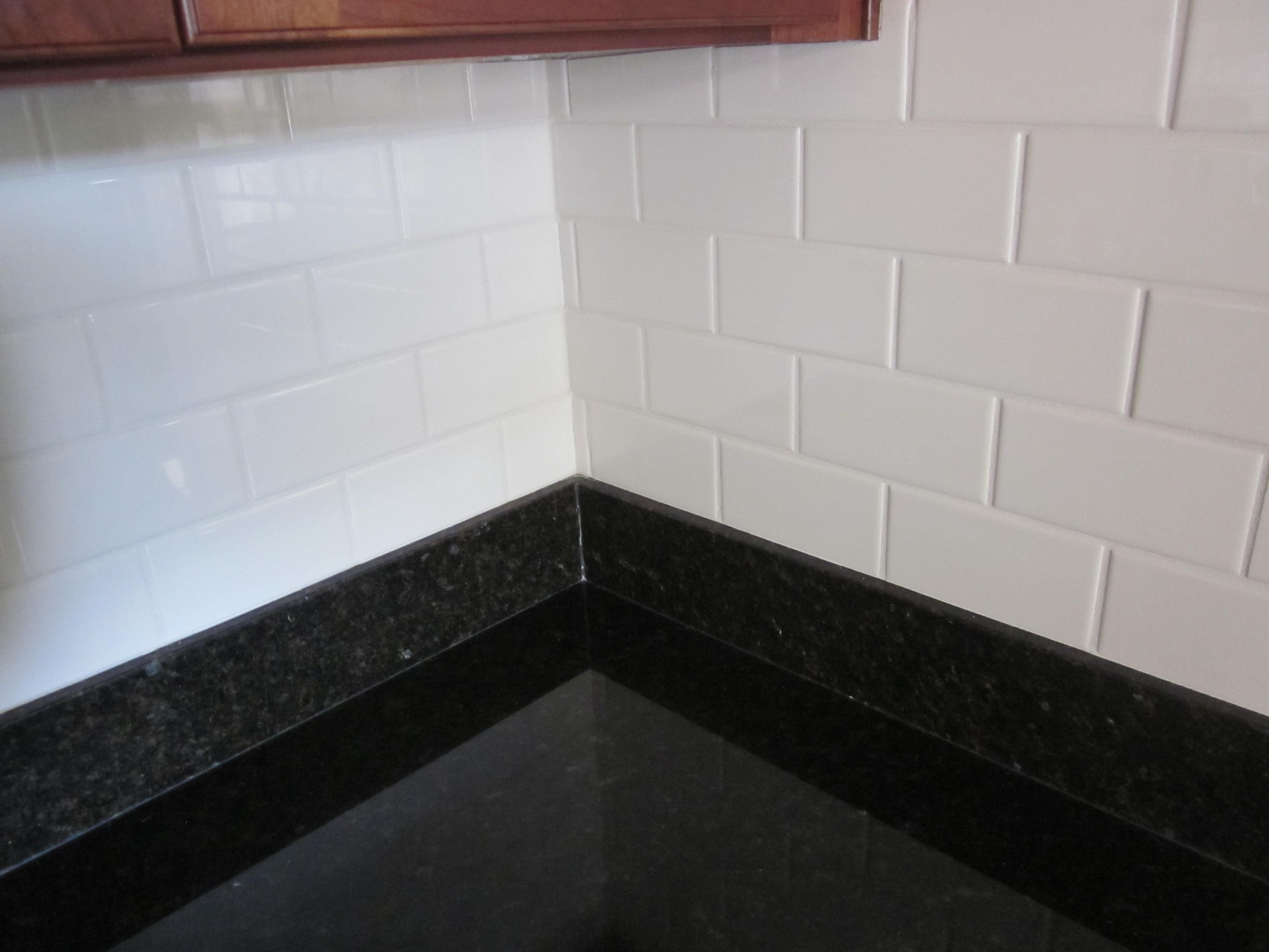 tile backsplash with granite countertop Concord, CA