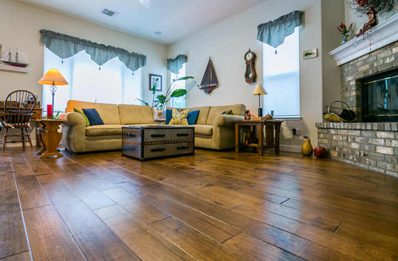 luxury vinyl plank floors in Pleasant Hill