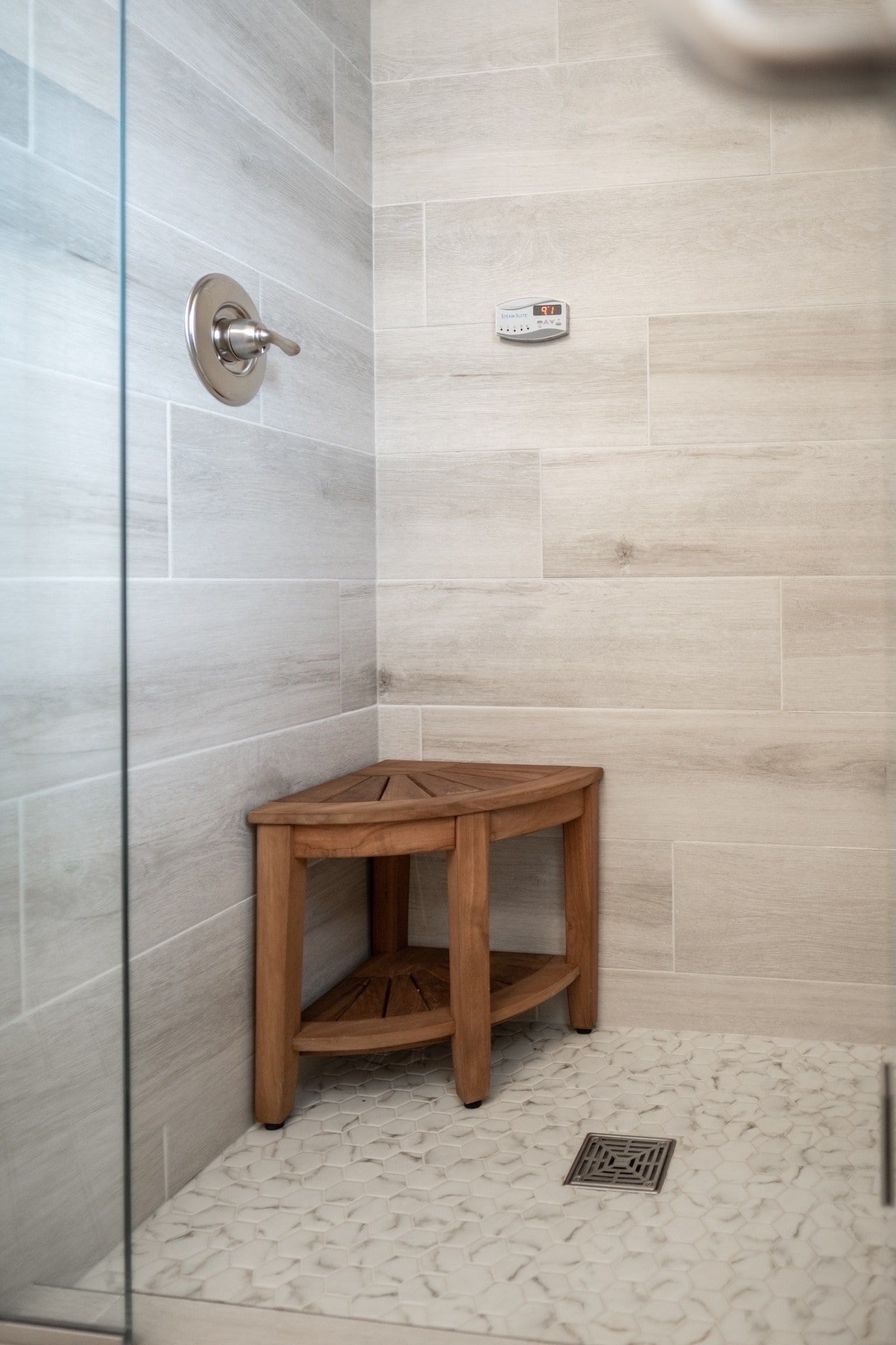 Custom Shower Tile In Milestone Floor Coverings International Regina