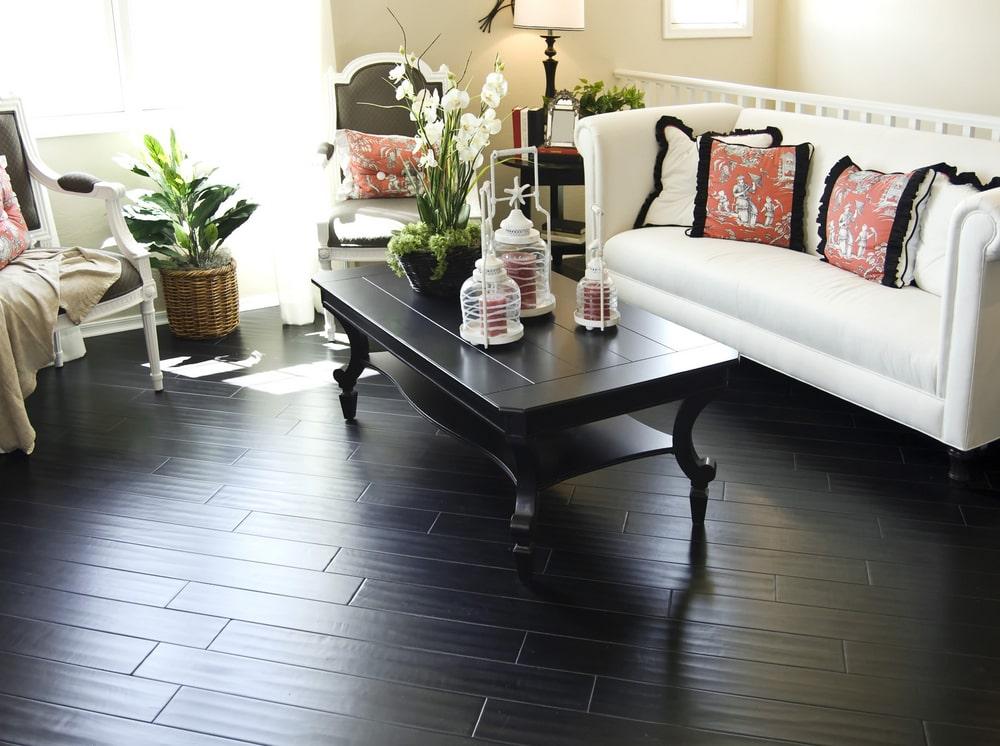 Dark Hardwood Flooring in Avon Lake
