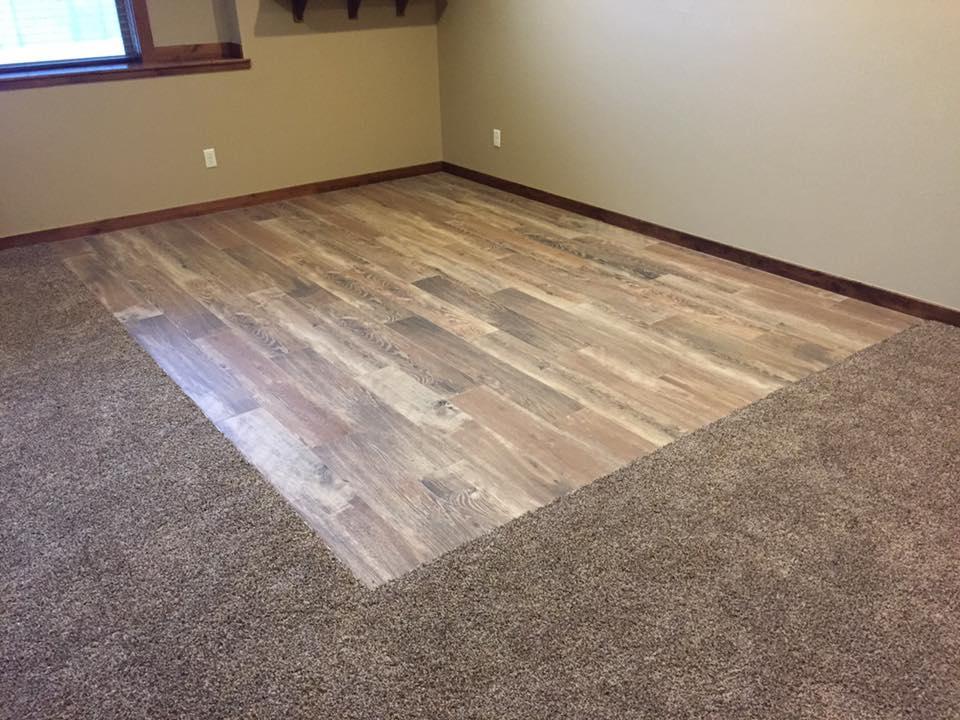 Wood-look tile, Bozeman MT
