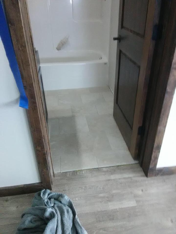 bathroom flooring in bozeman