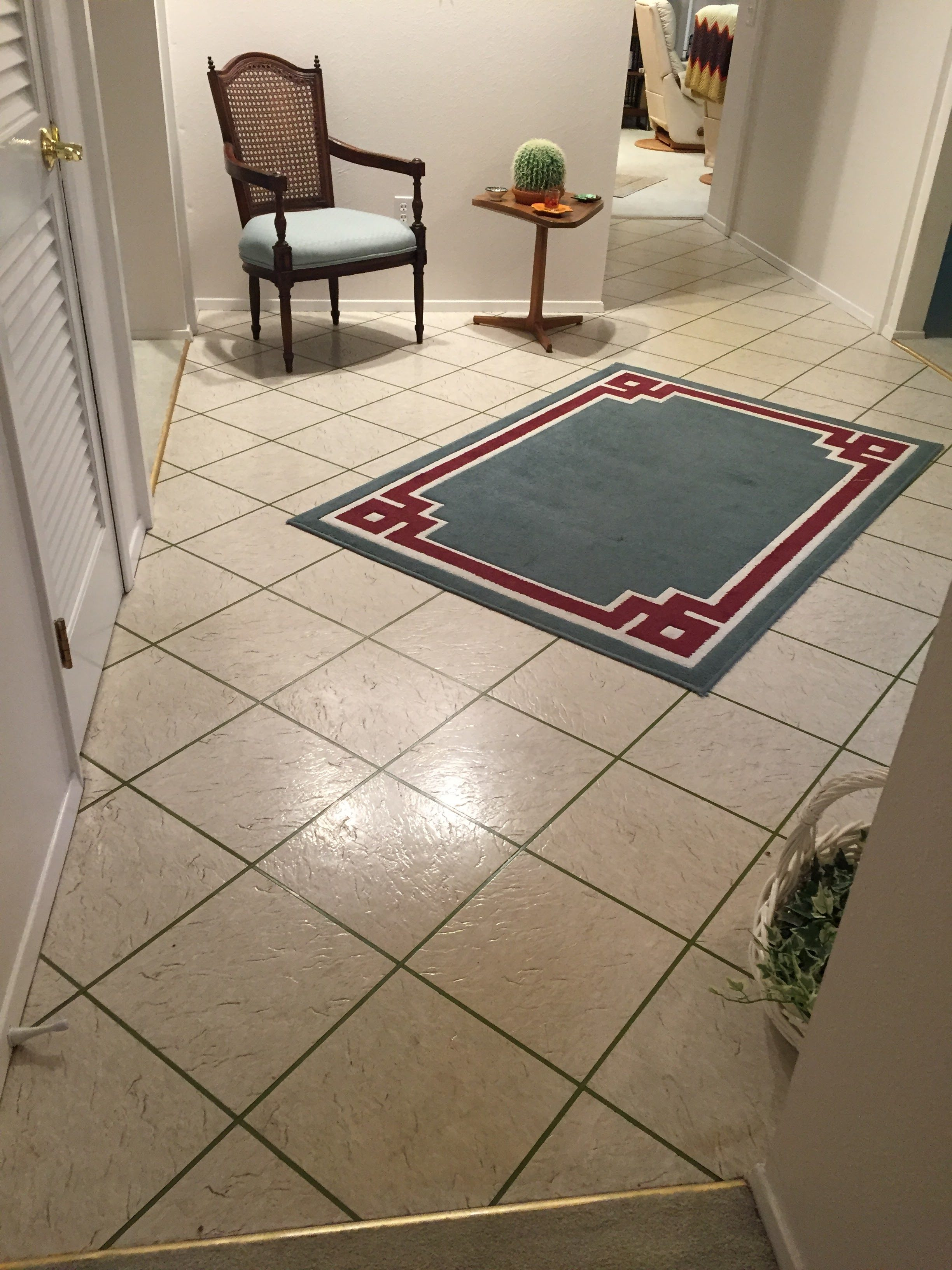 Tile before installation