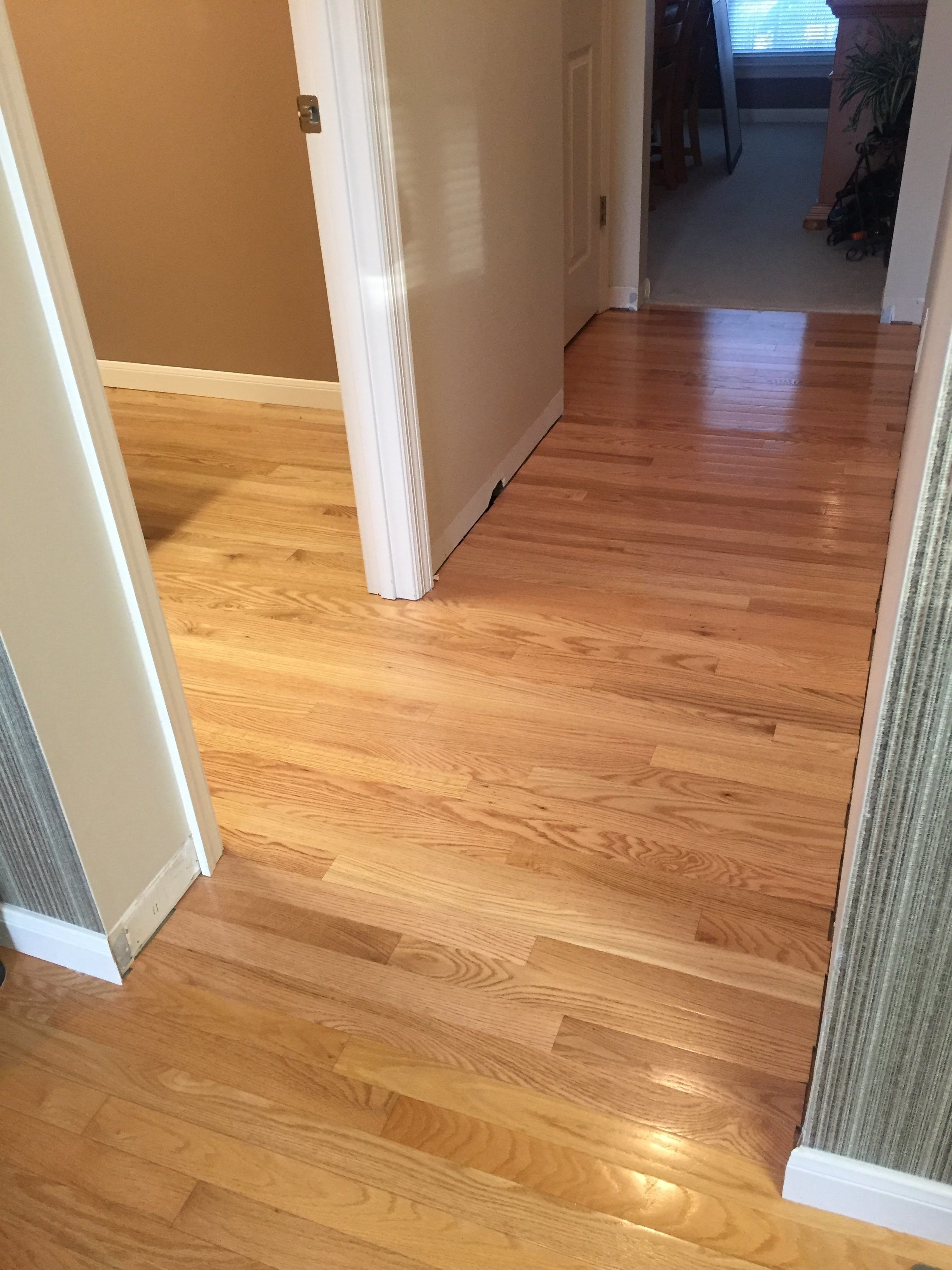 Oak hardwood floors in West County