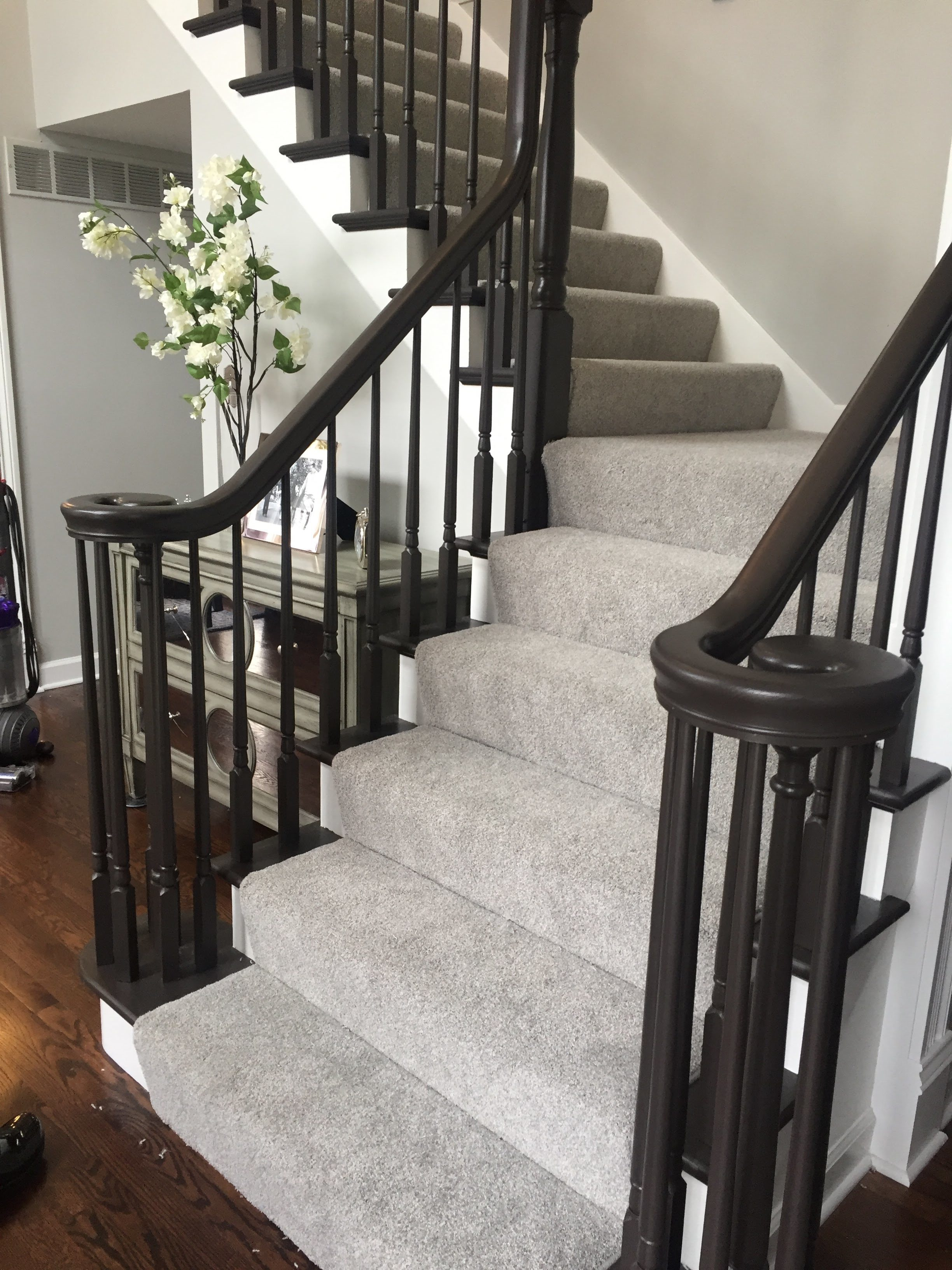 Stair carpeting in West County