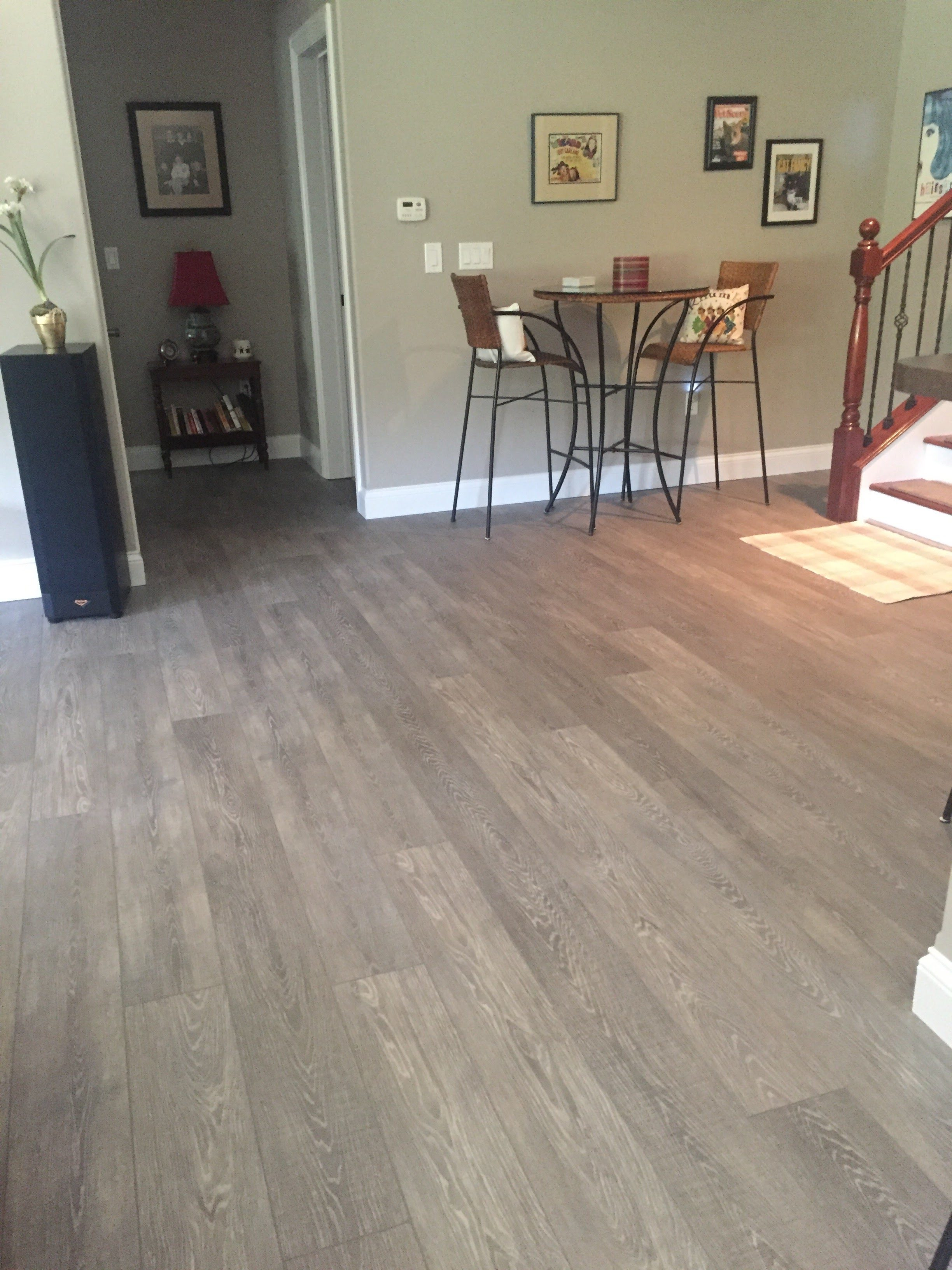 Luxury vinyl plank floors in West County