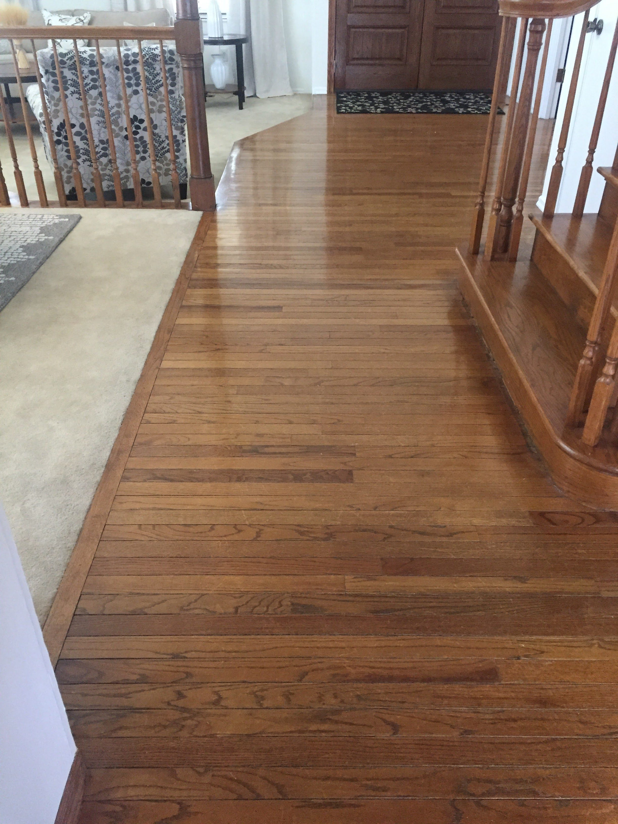 Refinished Hardwood and Stairs West County