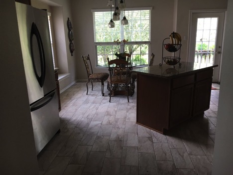 new kitchen floor tiles, stone oaks texas