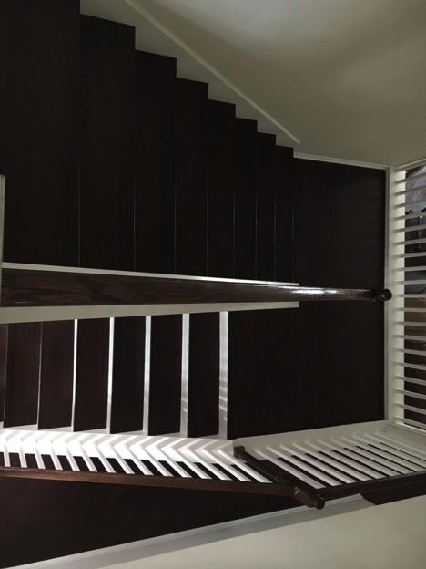 hardwood staircase, stone oak texas