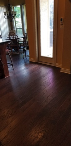 after picture, hardwood flooring
