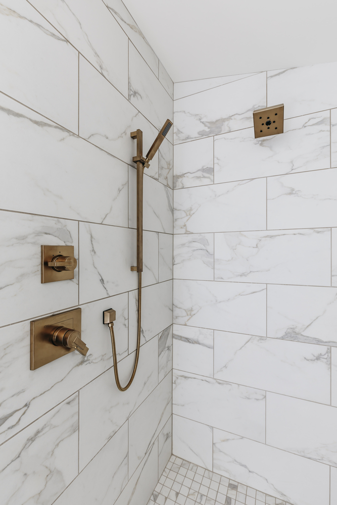 Natural Stone Shower Tile in Boca Raton