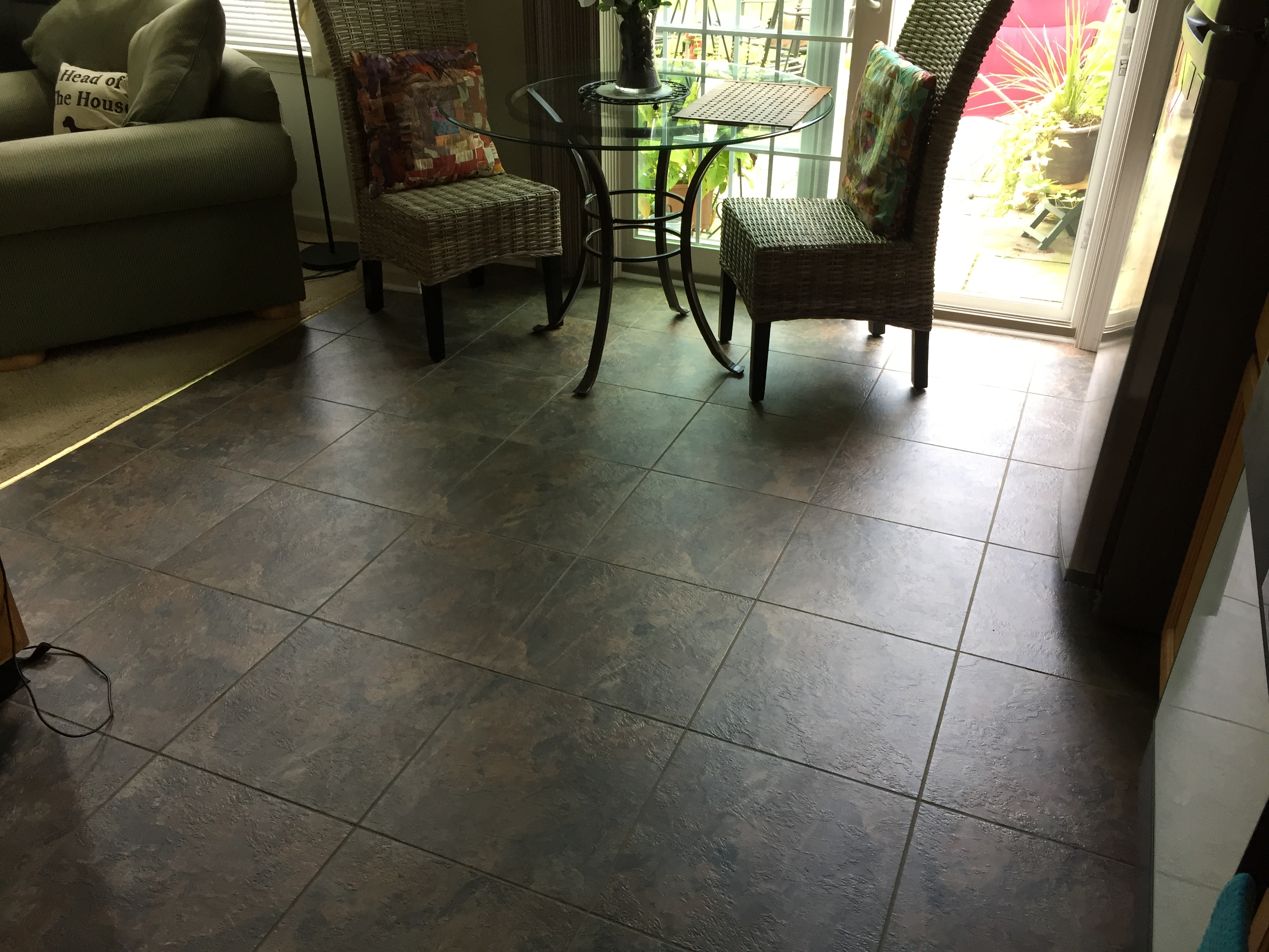 luxury vinyl kitchen tile Montco