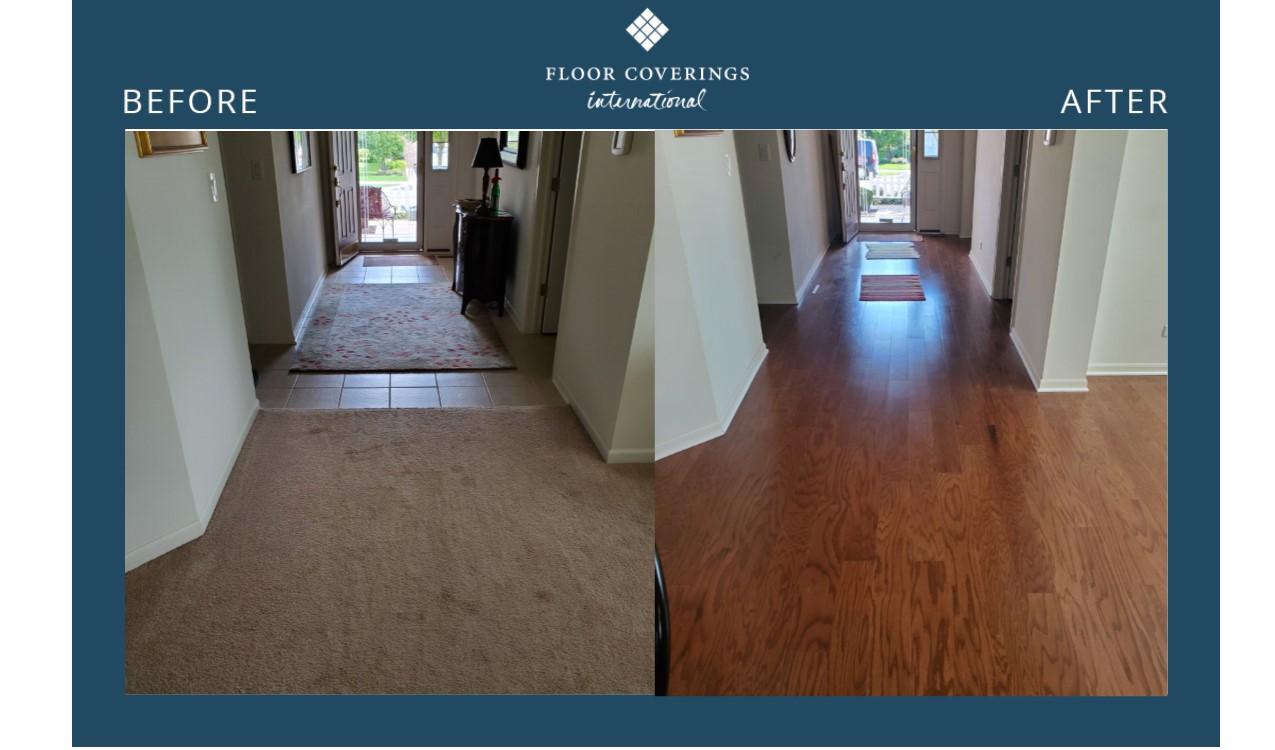 flooring transformation