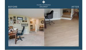 bradica before and after flooring