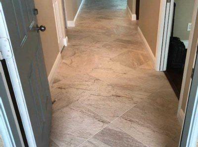 Hallway To Rear Entranceway With Tiled Flooring