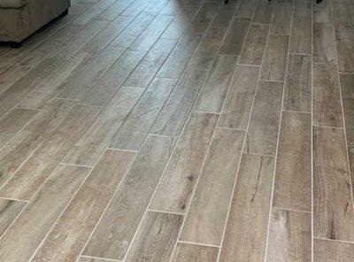 Floored Kitchen & Living Room Area