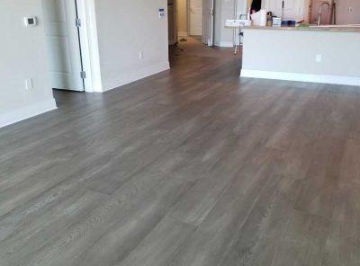 Light-Colored Hardwood Kitchen Flooring