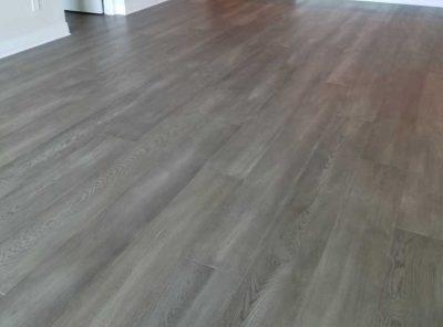 Light-Gray Hardwood Floor Inside The House