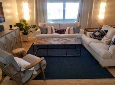 Vinyl Floor Panels Under Living Room Furniture