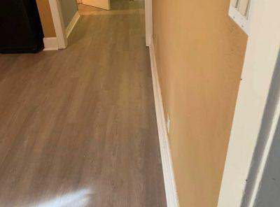 Vinyl Floor Hallway