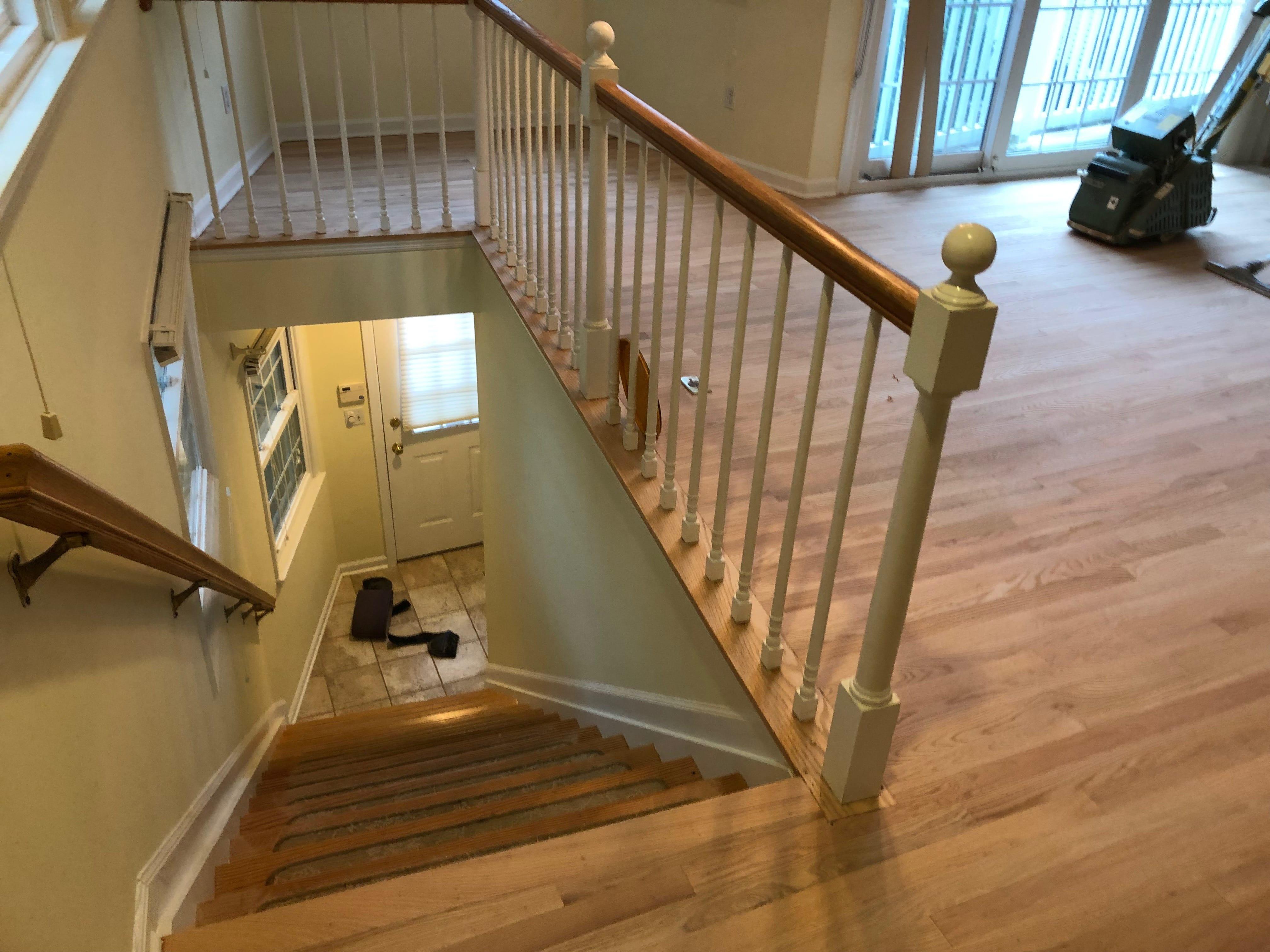 refinish floors
