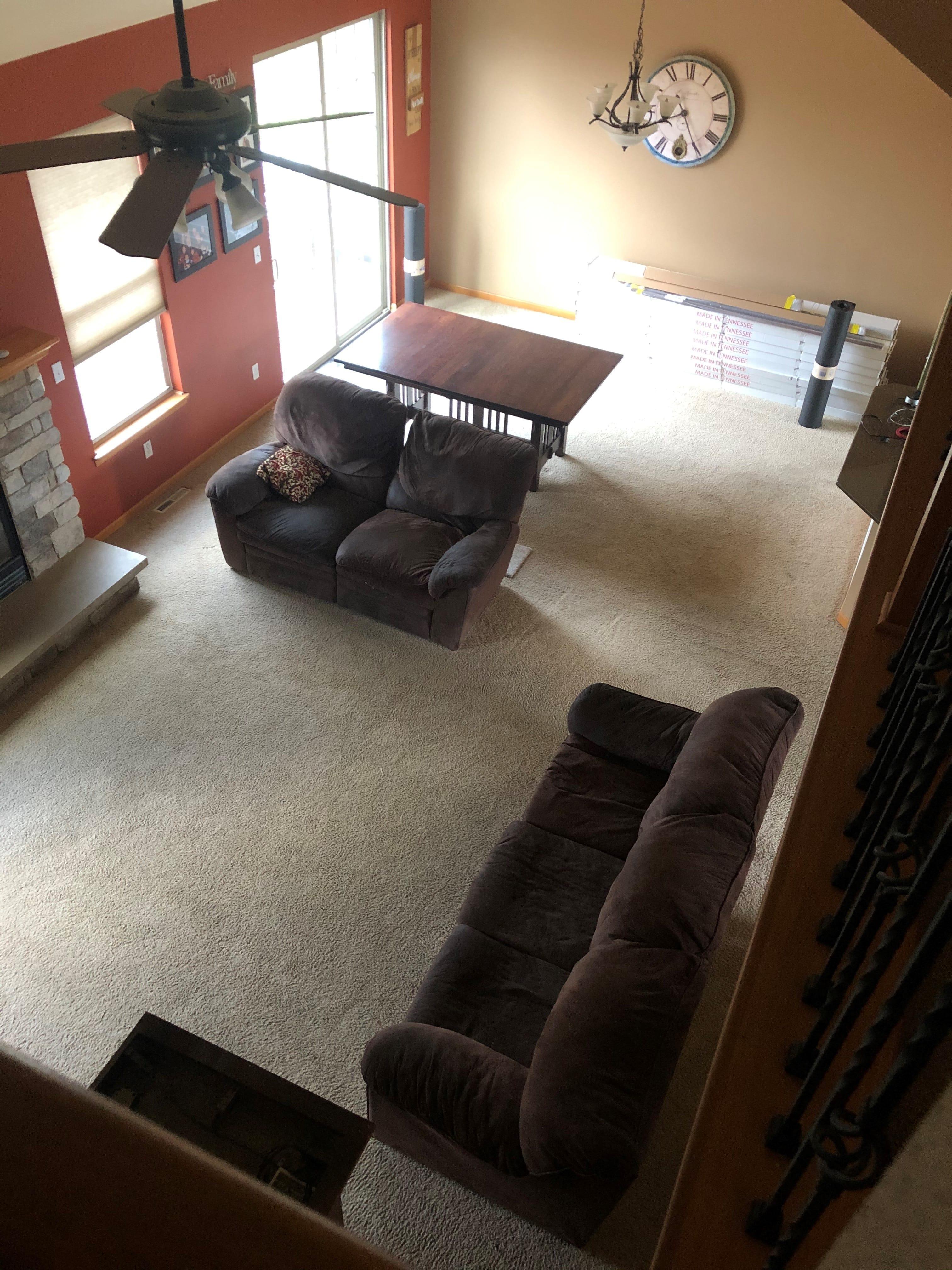 replacing carpet
